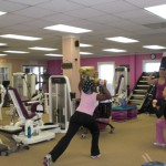 Working out at Fitness Diva 001